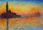 Sunset in Venice -Monet