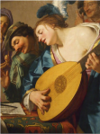 Le concert / National Gallery of Ireland /Gerrit van Honthorst