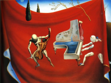 The red orchestra - Salvador Dali